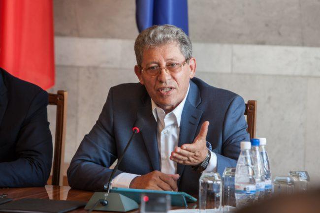 Liderul PL, Mihai Ghimpu, candidează pentru funcția de șef al statului FOTO Sandu Tarlev