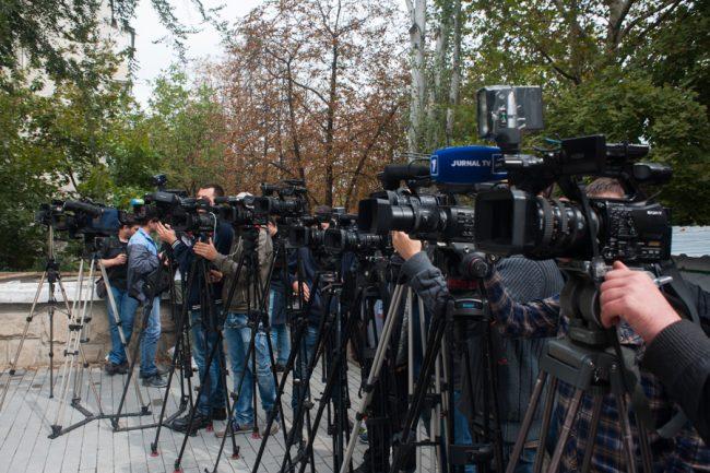Presa de la Chișinău este monitorizată în campania electorală FOTO Sandu Tarlev