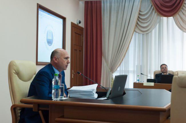 Guvernul Filip a scăpat de moțiunea de cenzură FOTO Sandu Tarlev