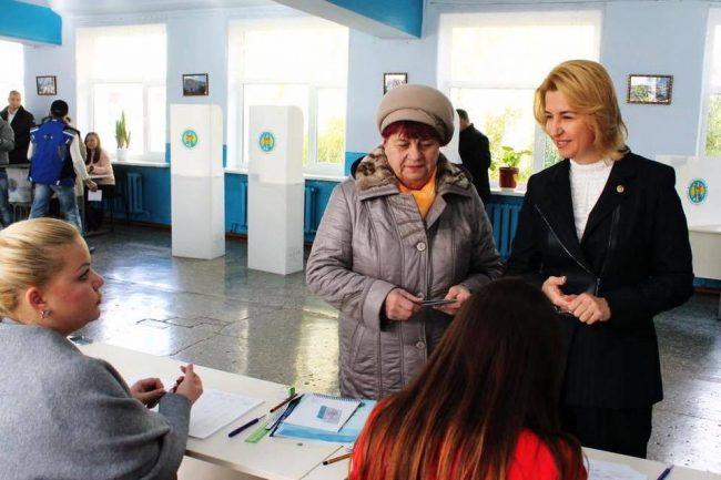Irina Vlah, la vot FOTO profil Facebook