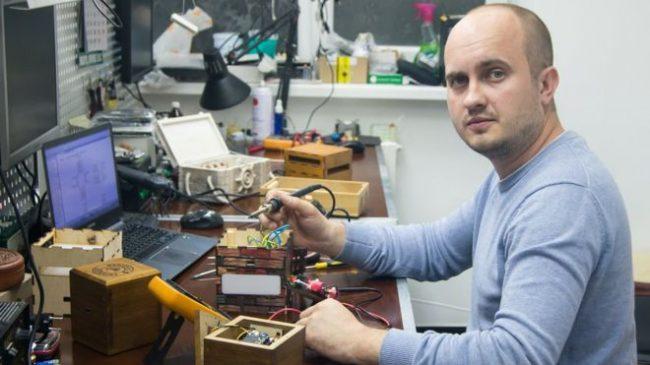 Ivan Kodakovschi din Tiraspol a beneficiat de un grant de peste 7.000 de euro din partea UE. Sursa foto