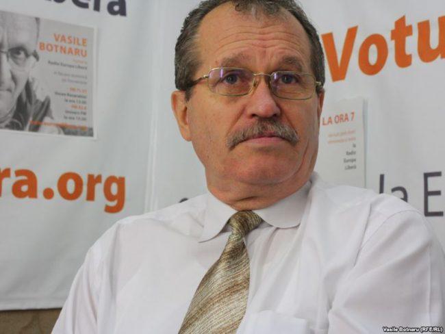 Expertul în drept constituțional și deputatul în primul Parlament, Alexandru Arseni Sursa FOTO: europalibera.org