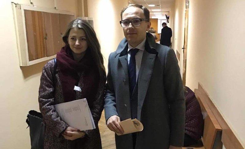Avocații Eduard Digore și Veronica Mihailov-Moraru