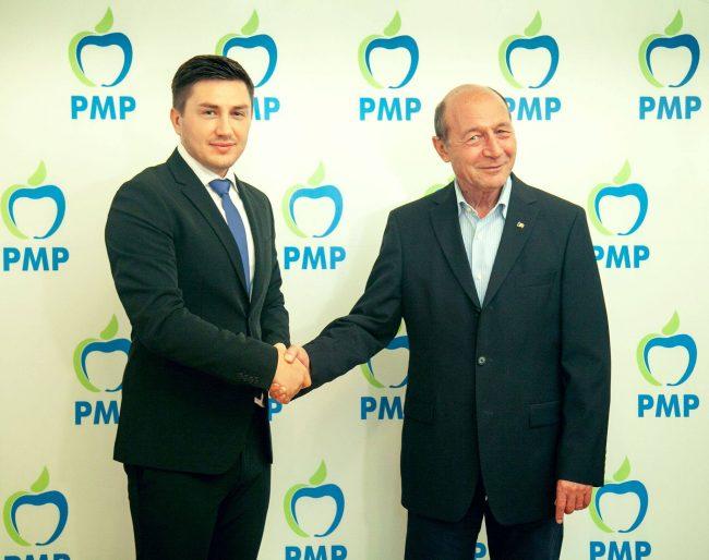 Constantin Codreanu și Traian Băsescu