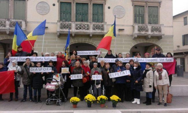 Diaspora moldovenească cere repetarea alegerilor FOTO Facebook
