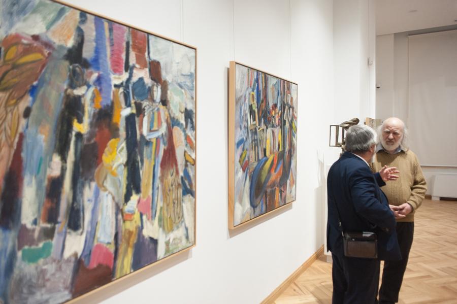 Peste 39.000 de tablouri și sculpturi se află la Muzeul Național de Artă. FOTO: Sandu Tarlev
