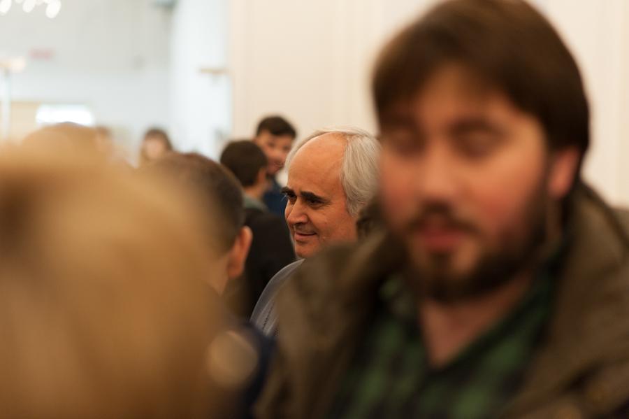 """Directorul Teatrului Național """"Mihai Eminescu"""", Petru Hadârcă. FOTO: Sandu Tarlev"""