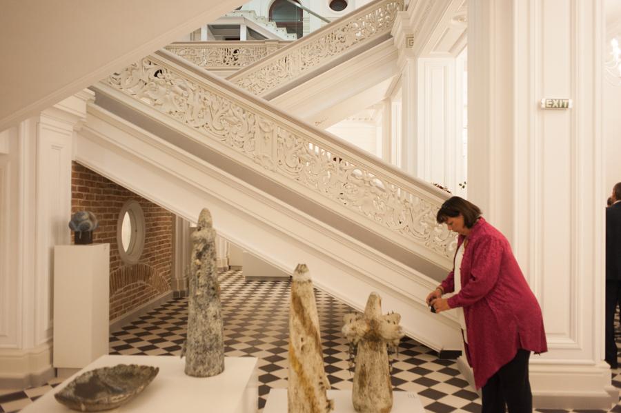Holul muzeului. FOTO: Sandu Tarlev