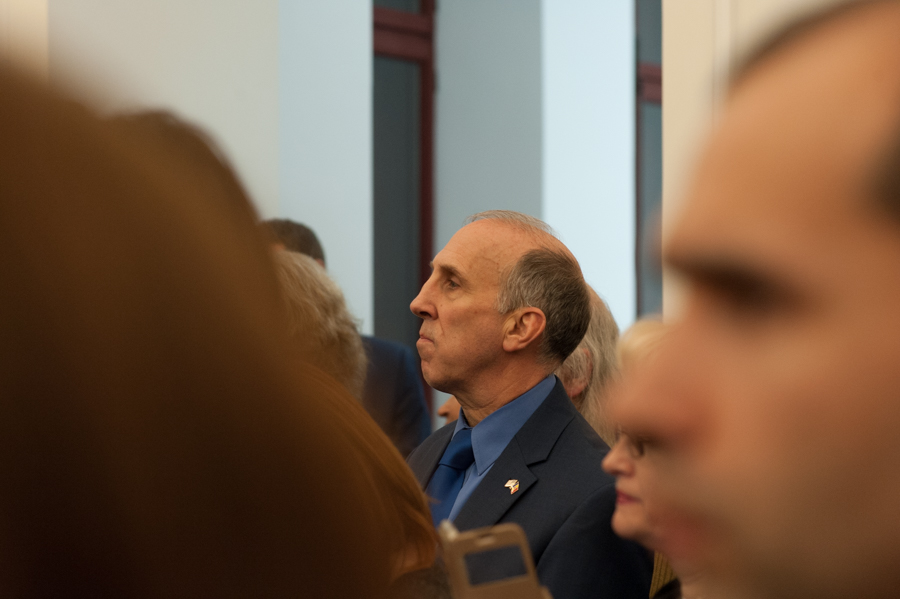 Ambasadorul SUA la Chișinău, James Pettit. FOTO: Sandu Tarlev