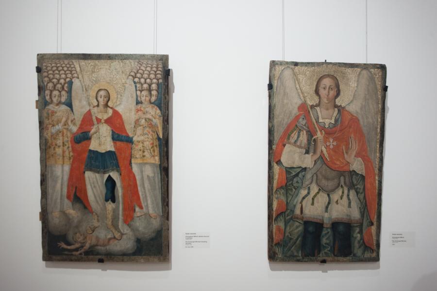 Icoane din colecția muzeului. FOTO: Sandu Tarlev