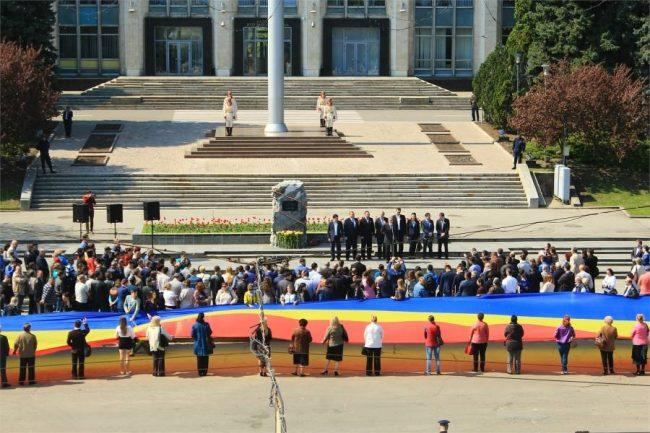 Piatra comemorativă a fost instalată în PMAN pe 28 iunie 2010 FOTO: profil Facebook/Anatol Șalaru