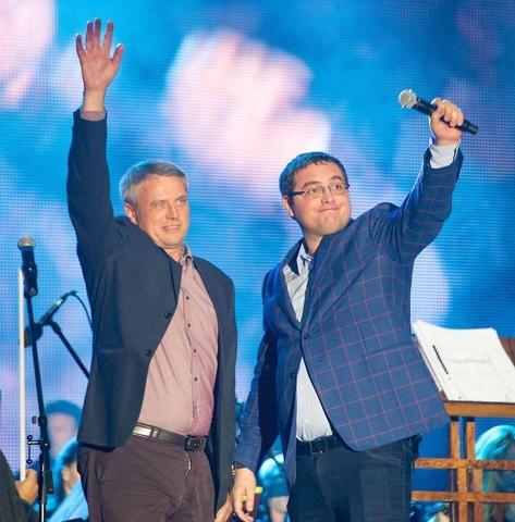 Dumitru CIubașenco împreună cu REnato Usatîi în campania electroală. FOTO Profil Facebook.com