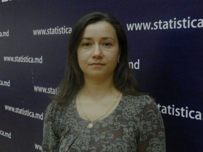 Valentina Istrati, Directorul Direcției Statistică Demografică și Recensământul Populației.