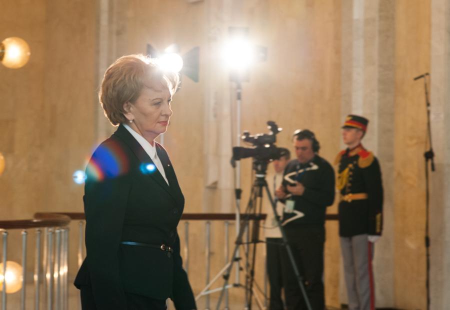 Zinaida Greceanîi, noul președinte al Partidului socialiștilor din Republica Moldova FOTO: Sandu Tarlev