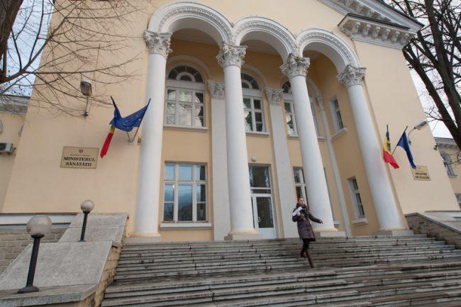 Sediul Ministerului Sănătății din Chișinău FOTO Sandu Tarlev