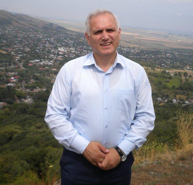 Alexei Busuioc, primar de Capaclia, Cantemir. FOTO: Arhivă personală