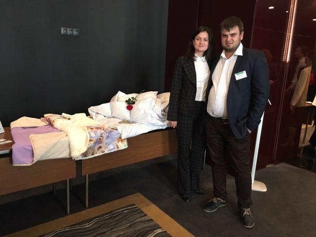 Victor Verejan împreună cu soţia Petronela. FOTO: Arhivă personală