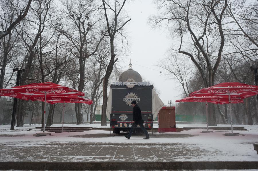 Parcul Catedralei FOTO: Sandu Tarlev