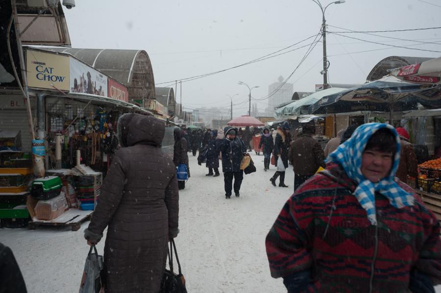 Piața Centrală FOTO: Sandu Tarlev