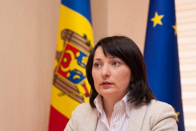 Olga Coptu, directoarea Biroului pentru Relații cu Diaspora FOTO Sandu Tarlev