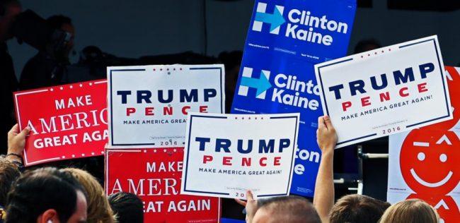 Susținătorii lui Donald Trump în campania electorală din SUA Sursa foto