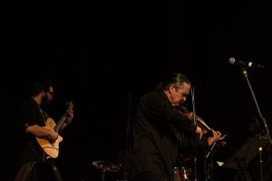 folk reverse jazz trio