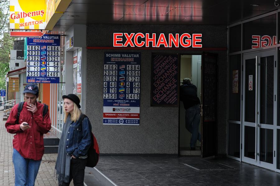 schimb valutar